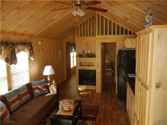 """The Rio"" (Cabin #12) at Two Fox Cabins"