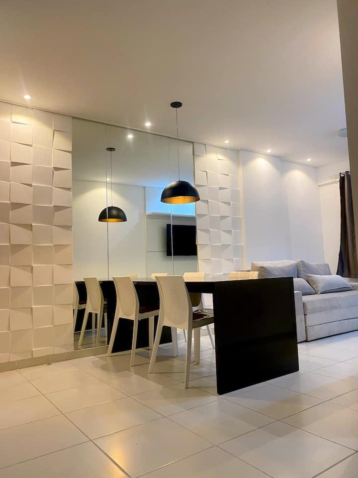 Apartamento confortável na Jatiúca