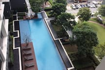 View  from Room's balcony