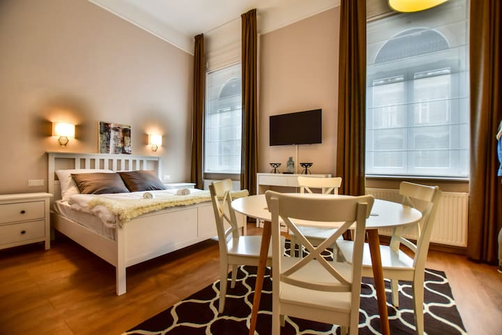 Cozy central studio flat GREAT location, FREEWiFi - Budapest - Guest suite