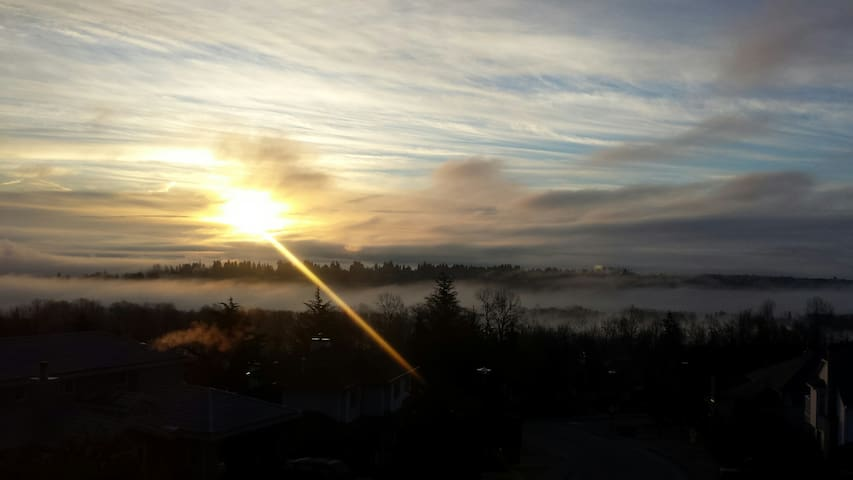 Home away home with Amazing views! - Coquitlam - Talo
