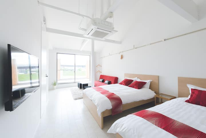 Riverview Studio - Guest Suites Fukugiku