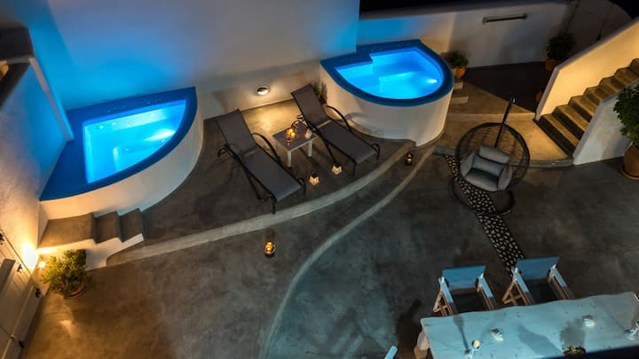 Villa Nimertis up to 5pax, Santorini - Cave House