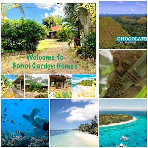 Bohol Garden Homes (1Shared Bathroom, Fan Cottage)