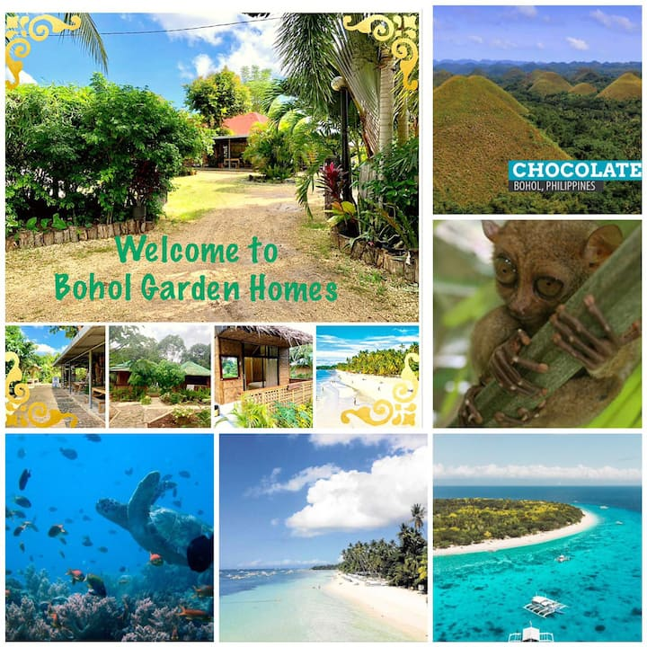 Bohol Garden Homes (1Shared Bathroom, Fan Cottage)
