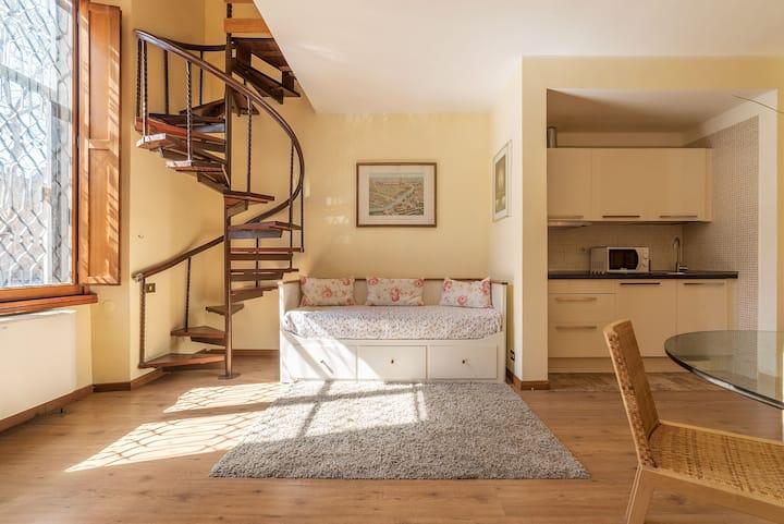 Villa Marignoli Appt su 2 livelli x3! NEW