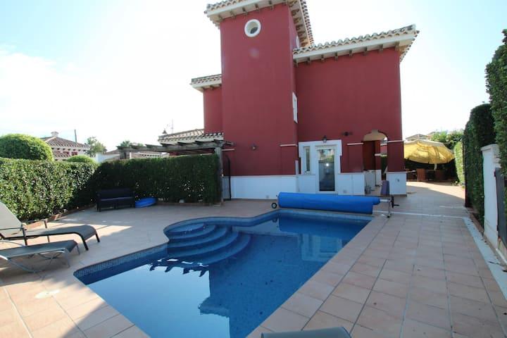 Villa Margarita-A Murcia Holiday Rentals Property