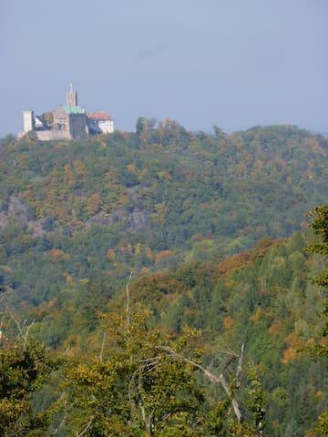 Ihre Ziele in Thüringen: Die  Wartburg