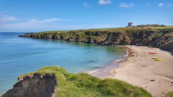Baginbun Bay, Fethard-On-Sea, Hook Peninsula