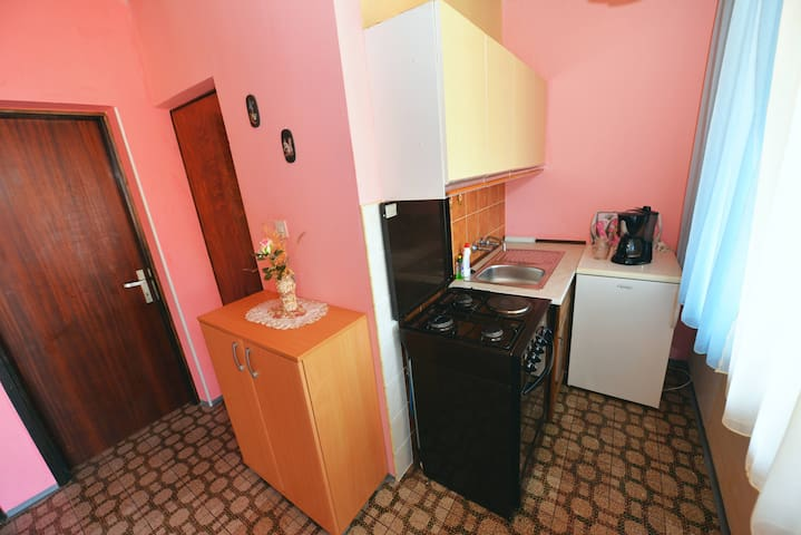 Kitchen - apartment No. 1 for 4 people