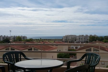 Apartamento familiar en la playa - Torredembarra - Daire