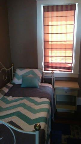 Bedroom in lower 3bd flat.