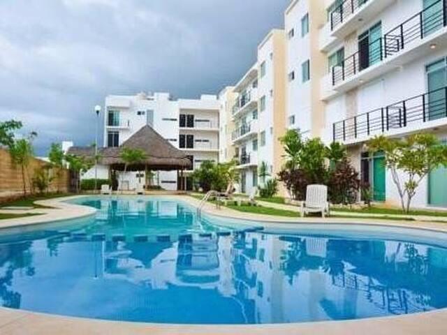 APARTAMENTO PARA 6-8 PERSONAS CON PISCINA Y WIFI - Playa del Carmen - Apartment