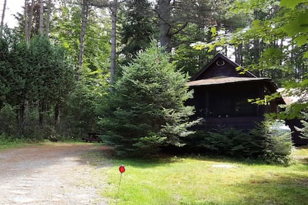 Authentic 1920 Adirondack Cabin - Lake Clear