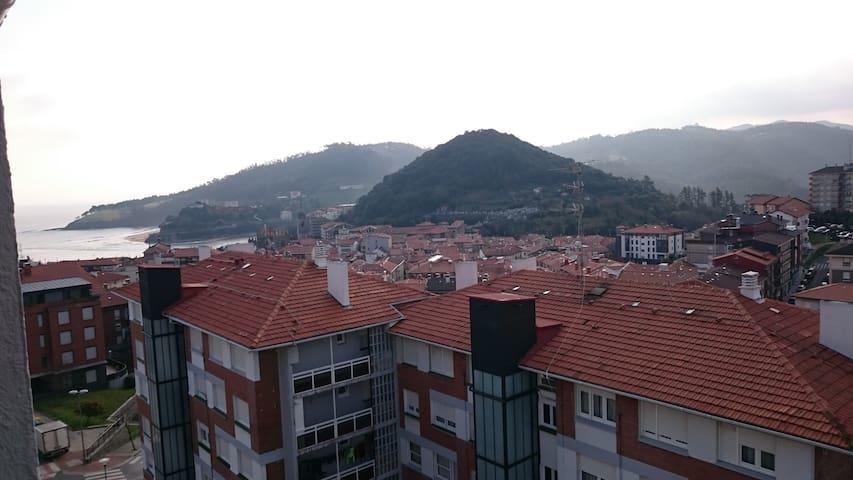 Apartamento con terraza, WiFi y parking privado. - Lekeitio - Wohnung