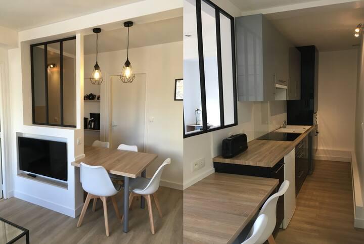 Magnifique appartement a 300m de la plage