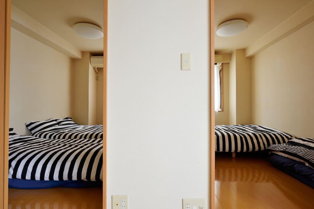 2bed room