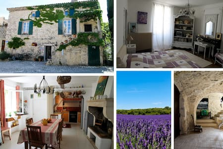 Gite dans magnifique maison en pierre - La Garde-Adhémar