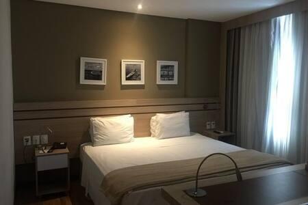 Lindo e espaçoso Flat no hotel Intercity - Flat 2
