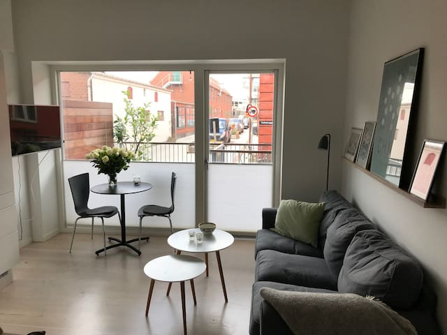 Modern apartment at the harbour in Copenhagen