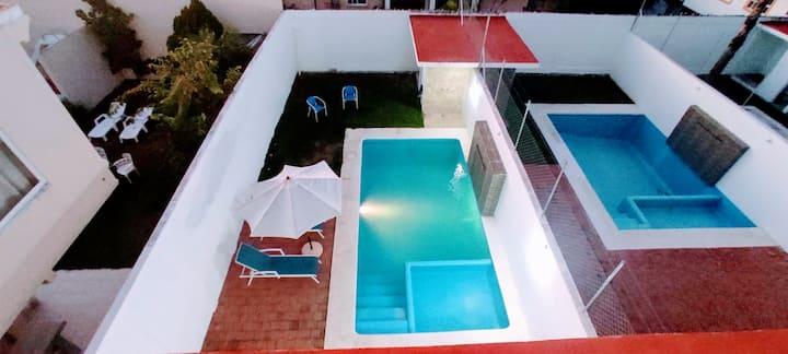 Amplia casa con alberca privada Acapulco Diamante