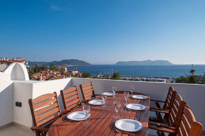 Yoga House Sea View, A place to enjoy Kaş views...