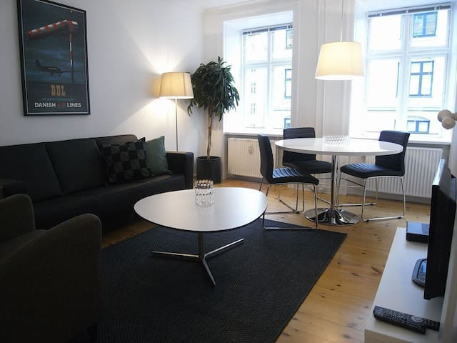 Apartment in middle of Vesterbro