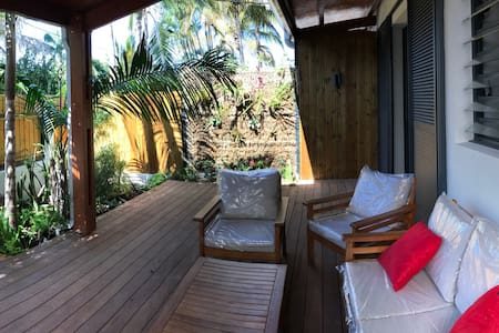 Appartement T2 dans une ambiance tropicale
