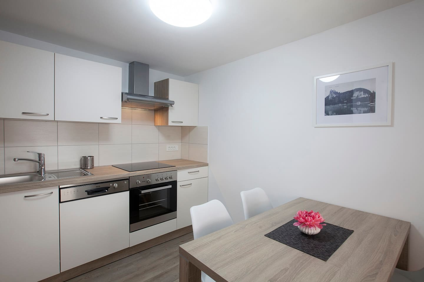 with fully equipped kitchen...