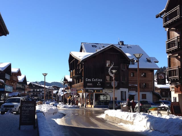 Appt for 4 people in the Chalet les Lutins - Les Gets - Apartment