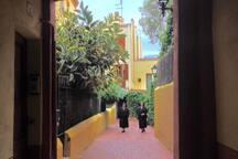 Vell Sarrià: Passatge Mallofrè from 1.866