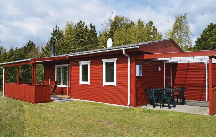 Holiday cottage with 2 bedrooms on 46m² in Hadsund