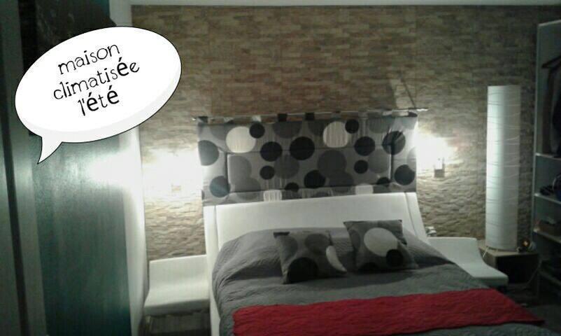 Whaou! Convivialité, Aix lac Ch+pdj - Aix-les-Bains - Bed & Breakfast