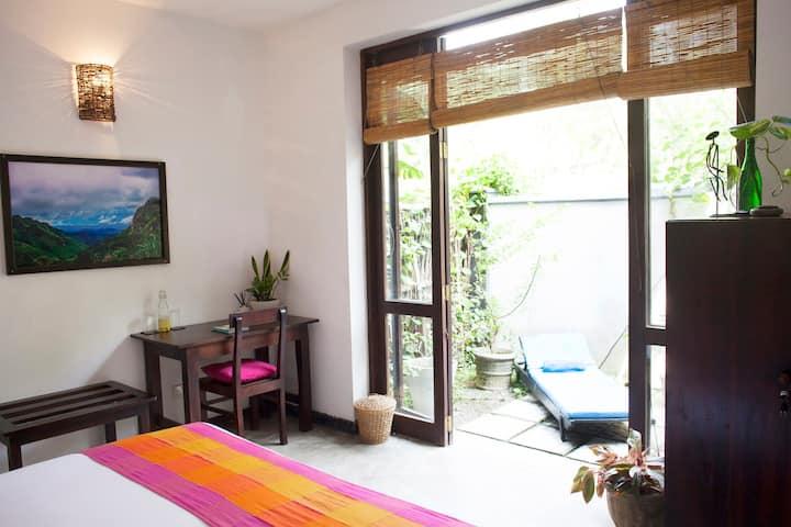 Salt Palm Garden, Yoga/Surfboard Included