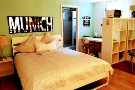Suite, sauna, bus @ the door 30min from citycenter