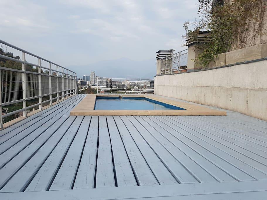 piscina ultimo piso