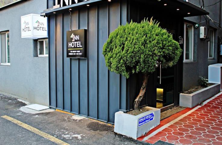 Basic Twin,  Inn Hotel  In Haeundae-gu Busan