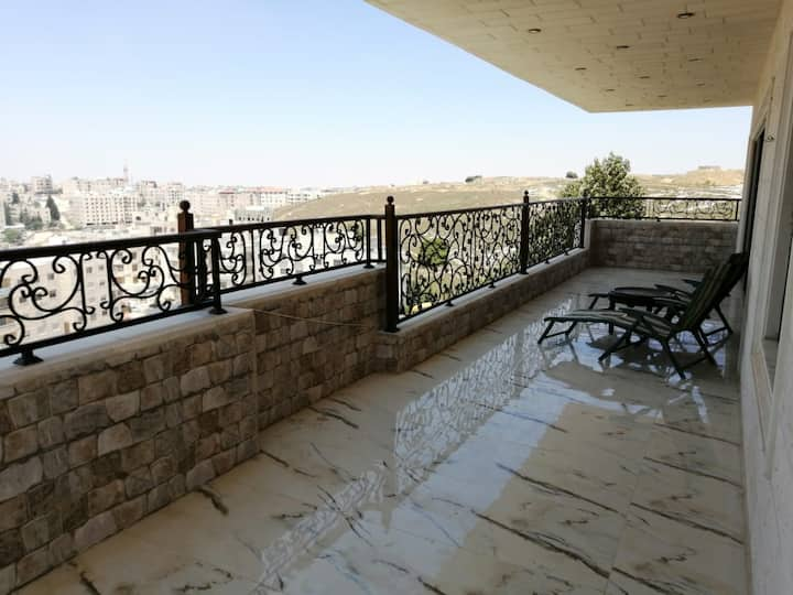 New 2 bedroom roof top with a fabulous view