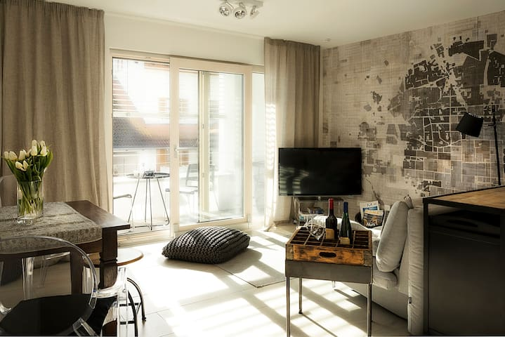 FEWO-KARLOTTA Wohnung zentral in Diessen/Ammersee - Dießen am Ammersee - Apartamento