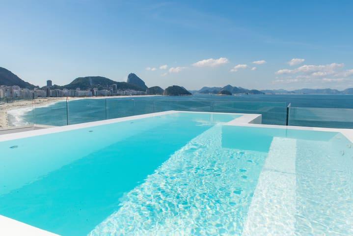 #Rio Upscale Posto 6 Lux Penthouse