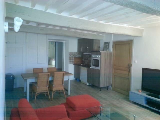 Charmant appartement dans cadre magnifique - Le Chaffaut-Saint-Jurson - Apartemen