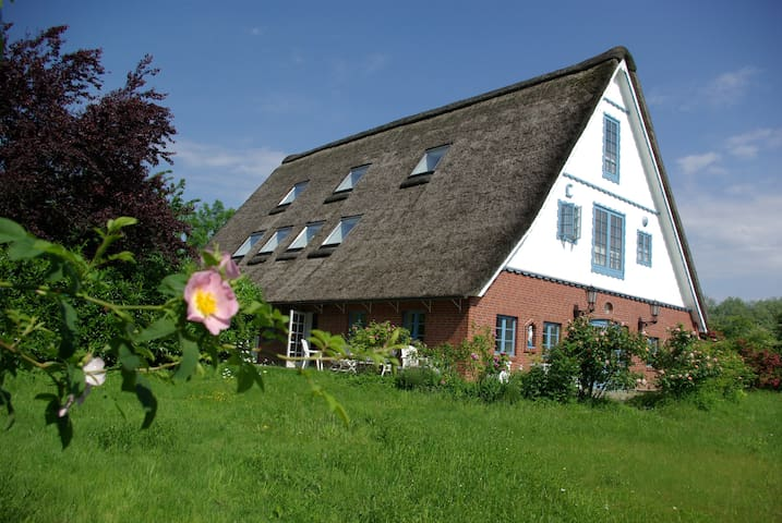 30 Min Hamburg, Traum-Rethdachhaus für 2-11 Pers - Neuenkirchen - Huis