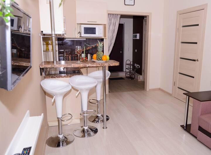 Уютная и функциональная квартира ждет своих гостей