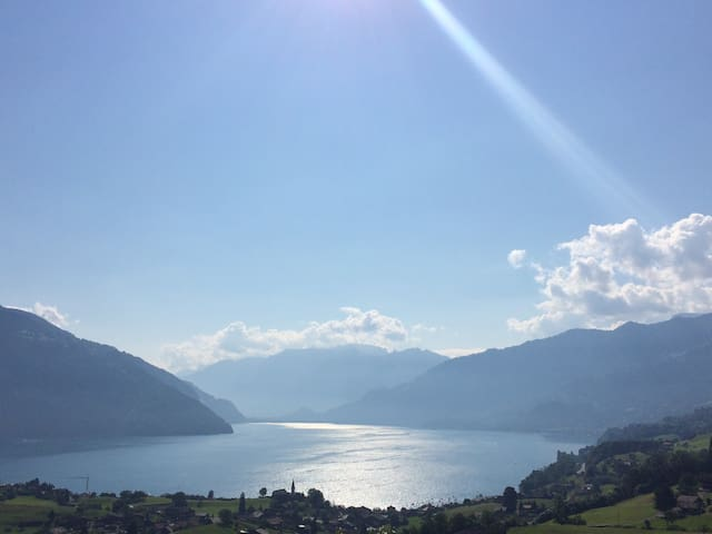 Unvergesslicher Seeblick unforgettable lake view - Spiez - Bed & Breakfast