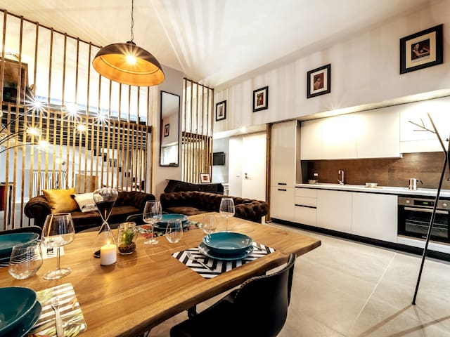 Luxury Loft Corso Sempione Jacuzzi Aparthotel-WIFI