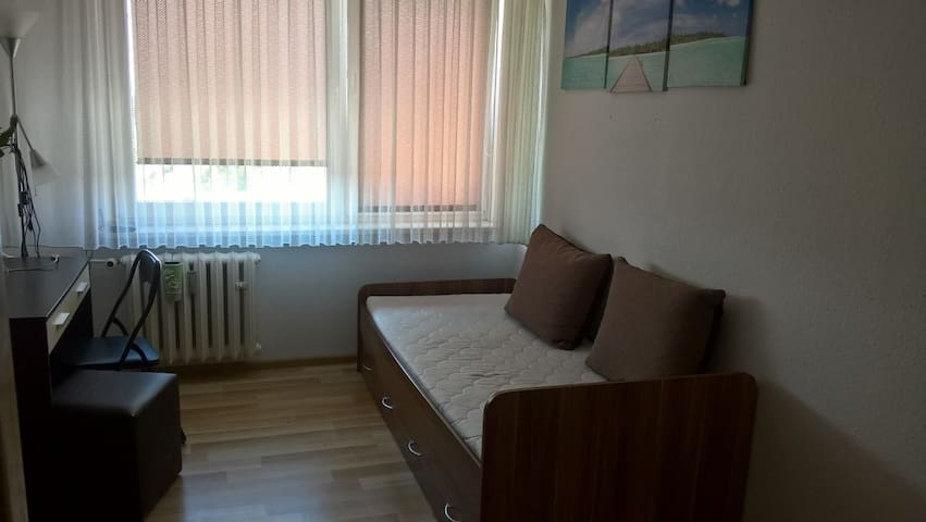 # Cheap Private Room, close to Center of Poznan :)