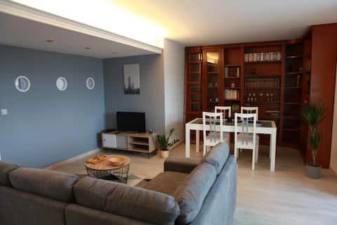 Appartement entier 55m2 tout confort.