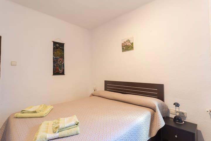 Habitación matrimonio  amplia - Logroño - Apartament