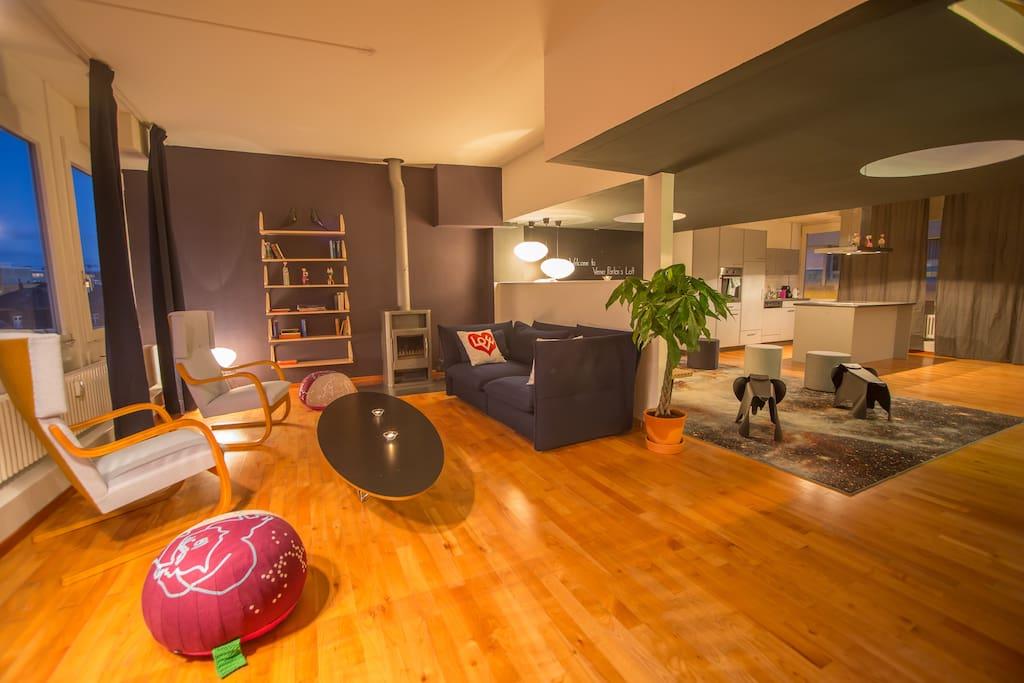 Vitra Livingroom 100sq