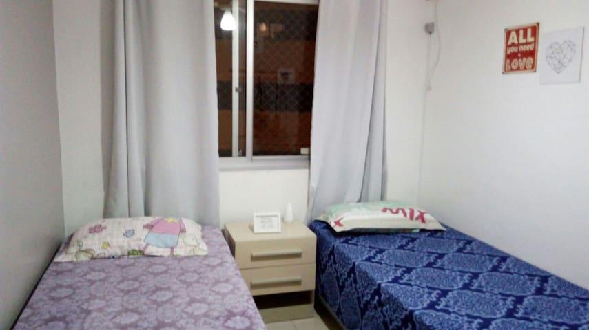 Quarto confortavél  na linda Balneário Camboriu